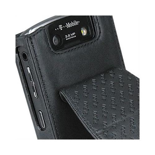 Housse cuir BlackBerry Curve 8900