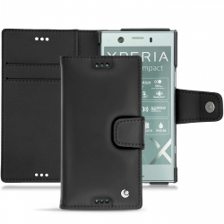Housse cuir Sony Xperia XZ1 Compact