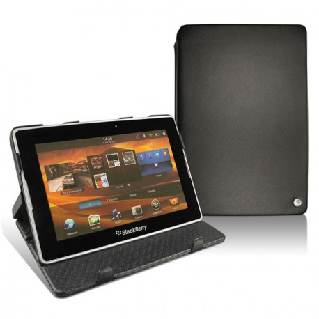 Blackberry playbook leather case for Housse blackberry curve