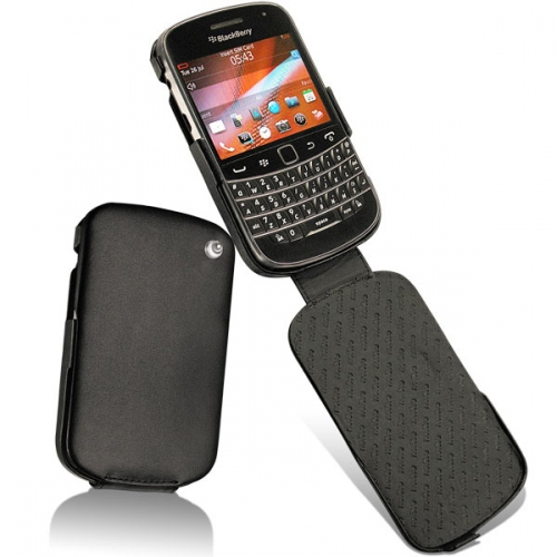 Housse cuir BlackBerry Bold Touch 9900 - 9930  - Noir ( Nappa - Black )