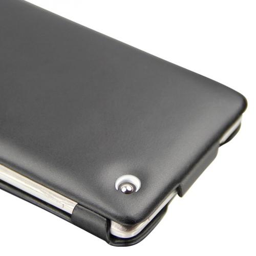 Housse cuir HTC Desire 600