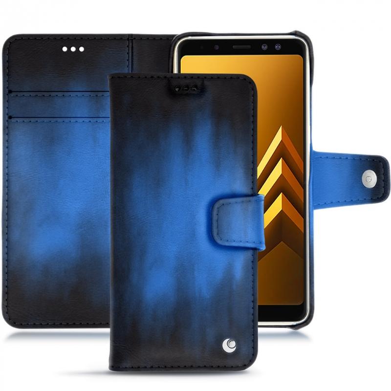 Samsung Galaxy A8+ (2018) leather case