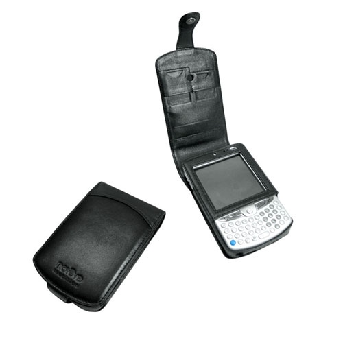 Etui cuir HP iPAQ hw6510  - Noir ( Nappa - Black )