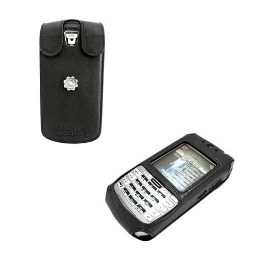 Etui cuir BlackBerry 7100g - 7100x  - Noir ( Nappa - Black )