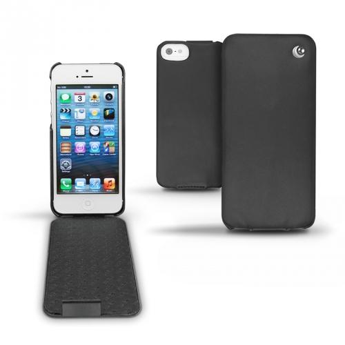 Housse cuir Apple iPhone 5  - Noir ( Nappa - Black )
