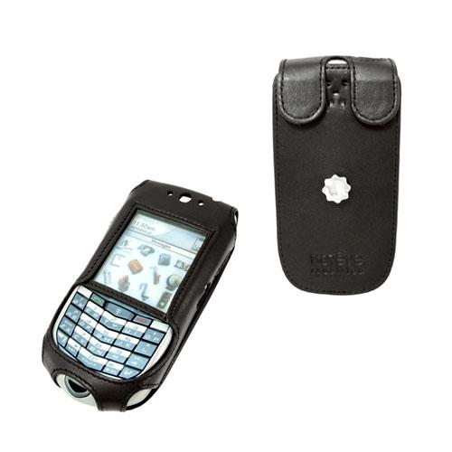 Etui cuir BlackBerry 7100t - 7105t - 7100r  - Noir ( Nappa - Black )