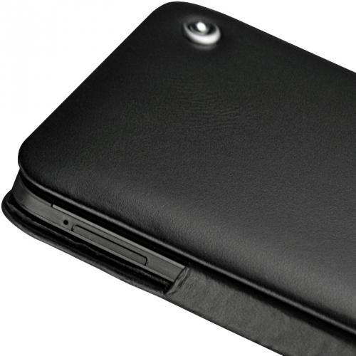 Housse cuir HTC One