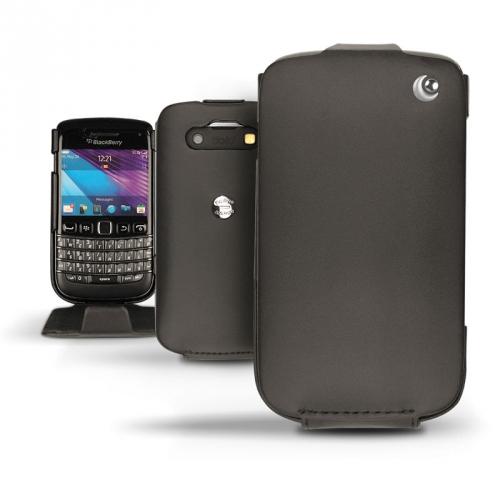 Housse cuir BlackBerry Bold 9790  - Noir ( Nappa - Black )