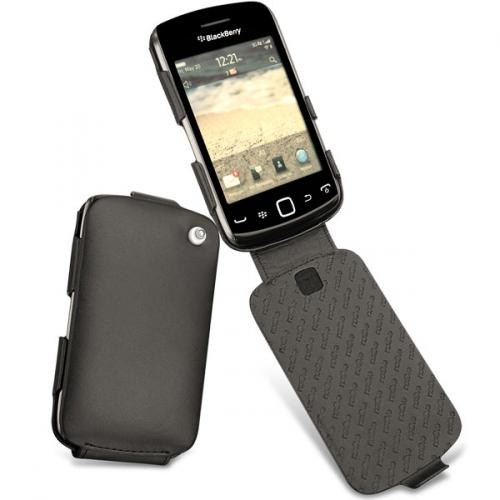 Housse cuir BlackBerry Curve 9380  - Noir ( Nappa - Black )
