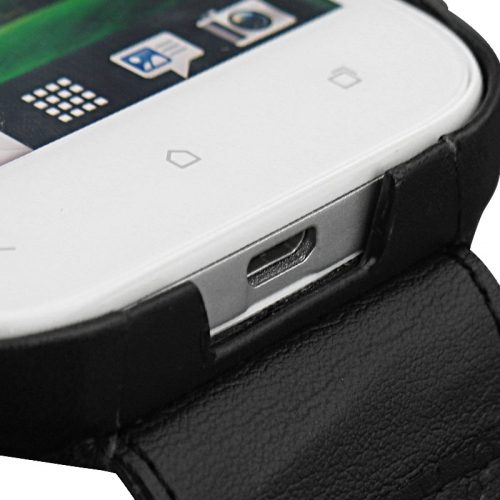Housse cuir HTC One SV
