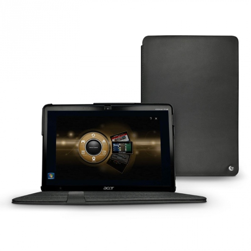 Housse cuir Acer Iconia Tab W500  - Noir ( Nappa - Black )
