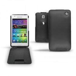 Housse cuir Samsung Galaxy S WiFi 4.2  - Noir ( Nappa - Black )