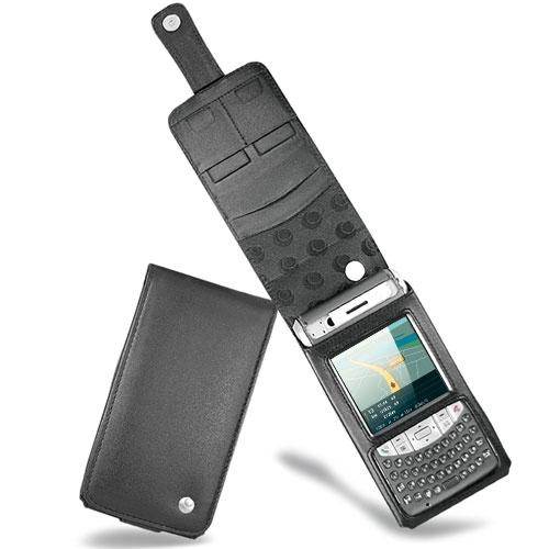 가죽 커버 Fujitsu-Siemens Loox T810 - T830  - Noir ( Nappa - Black )