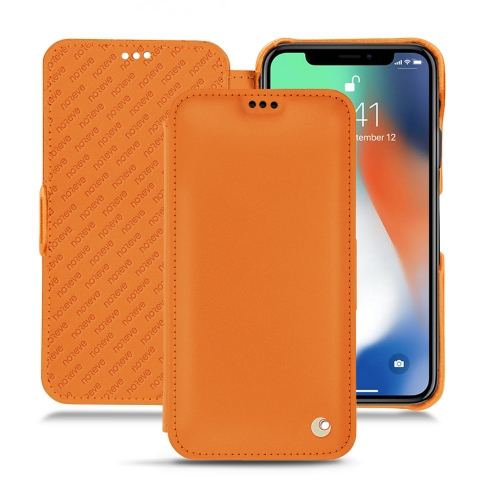 Coque cuir Apple iPhone Xr