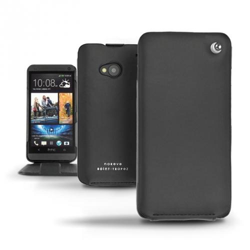 Housse cuir HTC One  - Noir ( Nappa - Black )