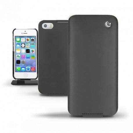 Custodia in pelle Apple iPhone 5S  - Noir ( Nappa - Black )