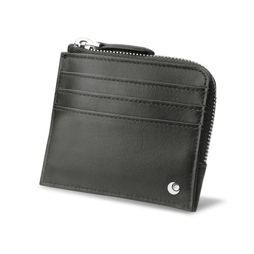 cbe335f2e6296 Portemonnaie und Kartentasche - Anti RFID   NFC - Noir PU