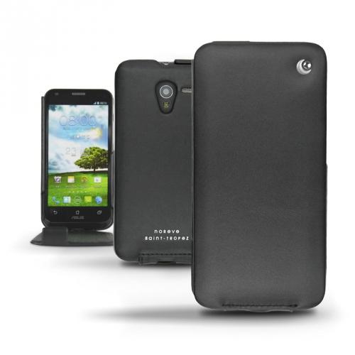 Housse cuir Asus Padfone 2 Smartphone  - Noir ( Nappa - Black )