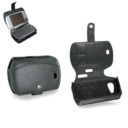Etui cuir Qtek 9000 - HTC universal - i-Mate Jasjar  - Noir ( Nappa - Black )