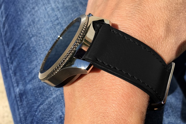 Leather strap for a smart watch - 22 mm - Griffe 1