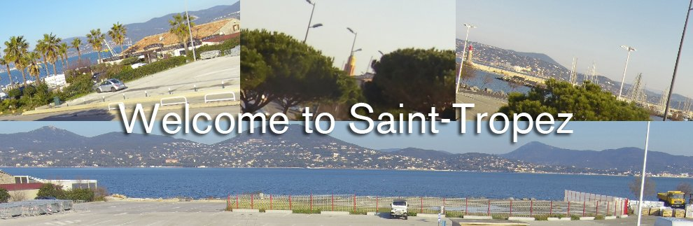 Webcam panoramique HD - Noreve Saint-Tropez