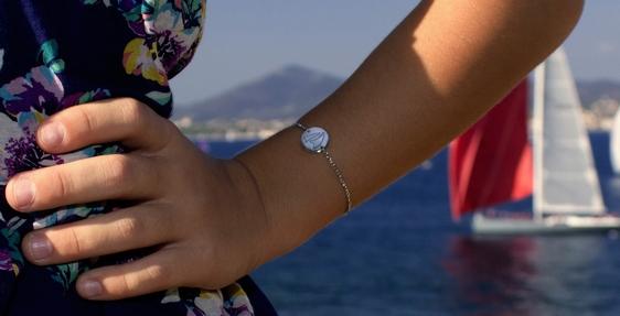 Bracelet argent enfant Noreve