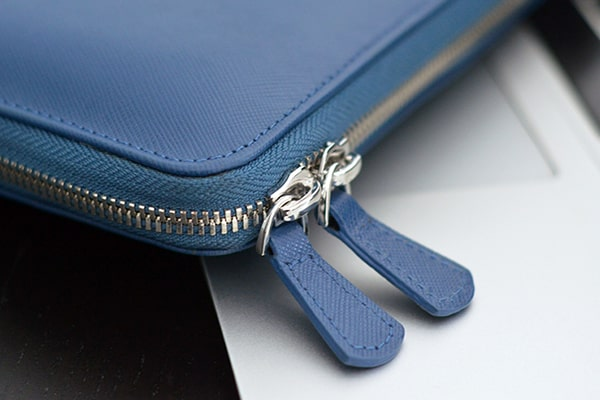 Funda de cuero para Macbook 12