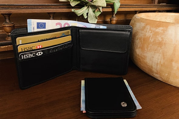 Money wallet - Anti-RFID / NFC