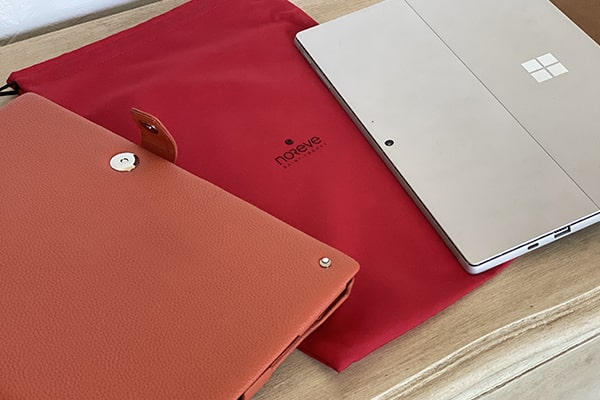 Microsoft Surface Pro 7 leather case