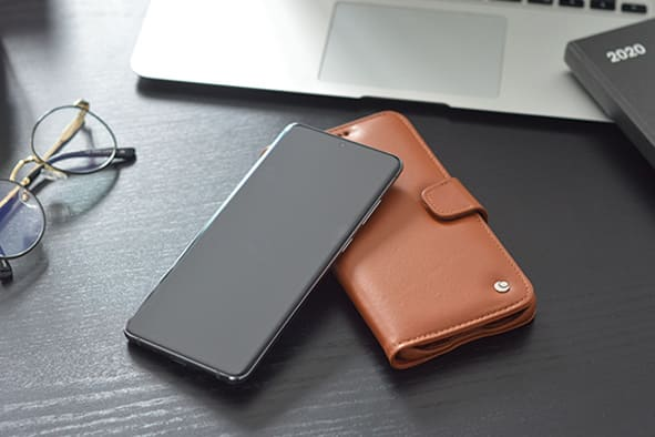 Samsung Galaxy S20+ 5G leather case