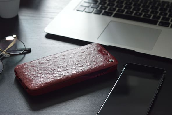 Samsung Galaxy S20 leather case