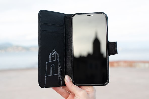Apple iPhone 12 Pro Max leather case