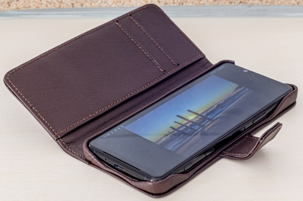 Sony Xperia 5 II leather case