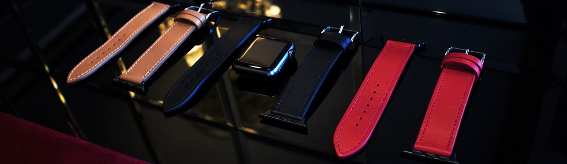 Leather strap for an Apple Watch  - Griffe 1